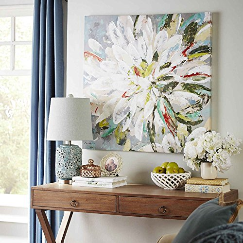 Colorful Flower Canvas Art Summer Floral Oil Paintings