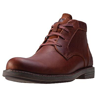 CATERPILLAR Bottines Brock Cuir Chaussures Homme iBUGlJpY