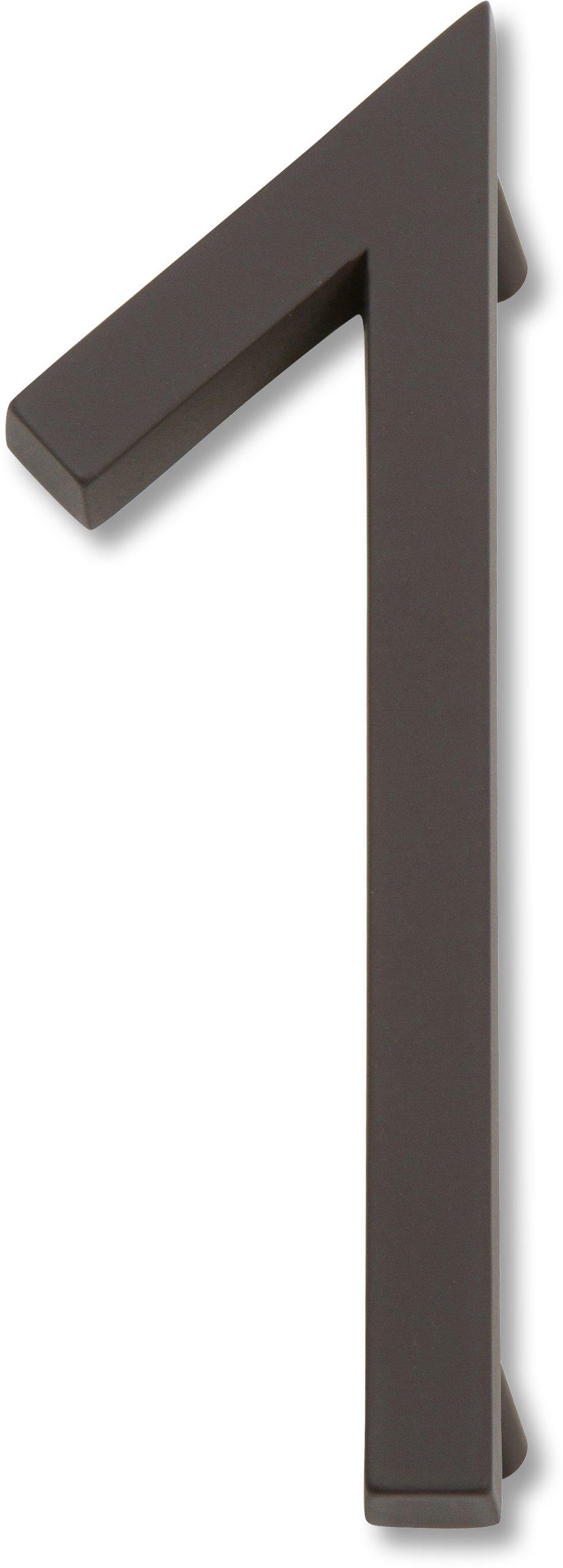 Atlas Homewares AVN1-O Modern Avalon 4.5-Inch No. 1 House Number, Aged Bronze