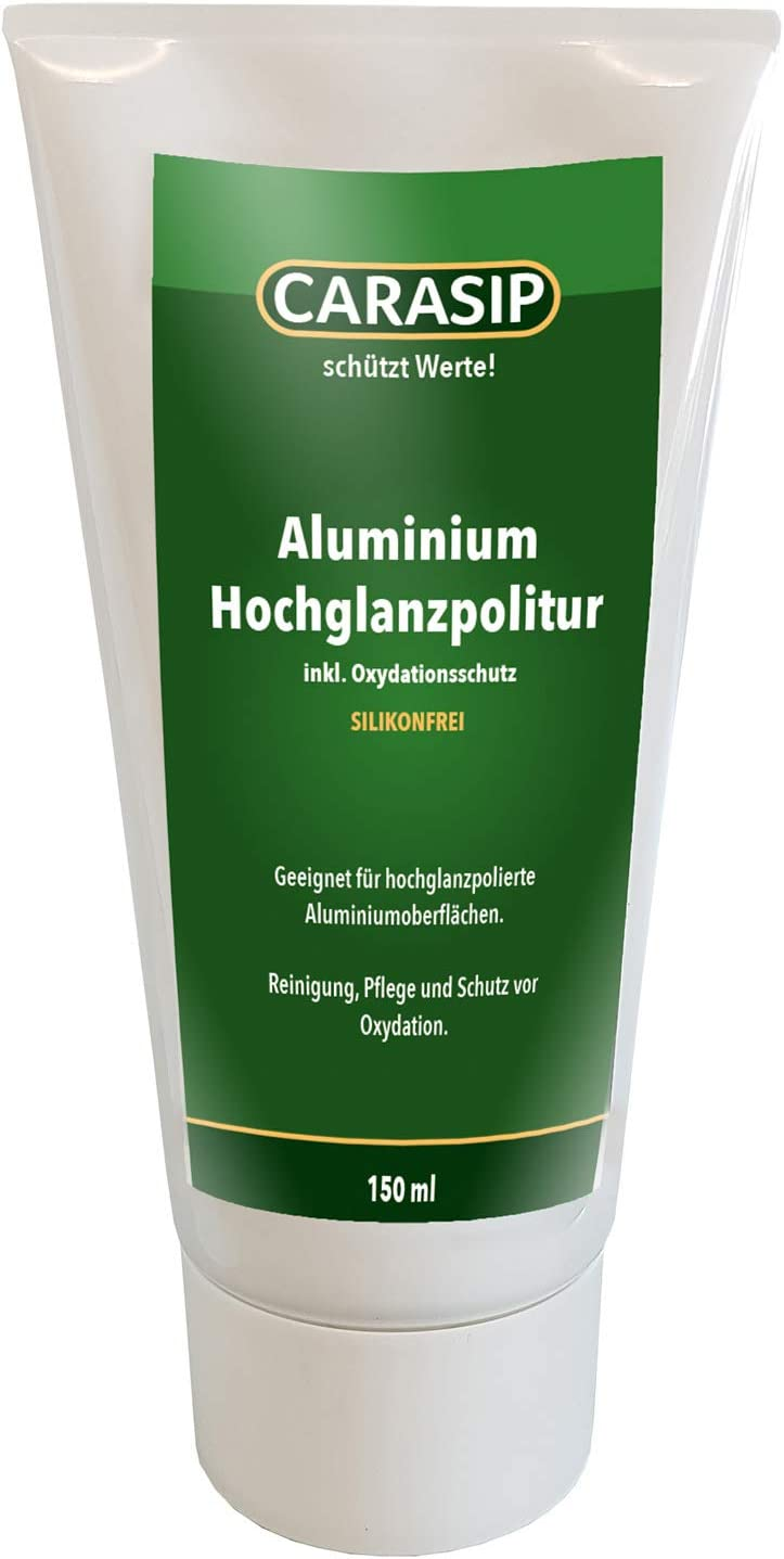 Carasip Aluminiumpolitur Aluminium Hochglanzpolitur Politur Polierpaste 150ml Auto