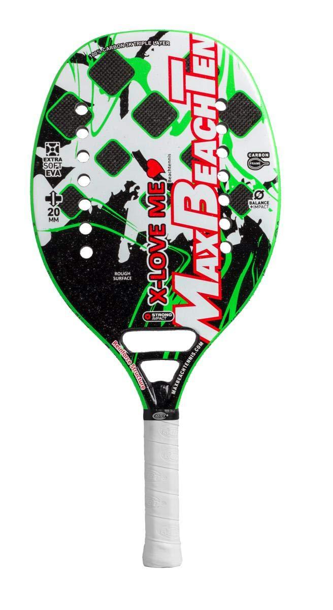 Pala de Tenis Playa MBT X-LOVE 2019: Amazon.es: Deportes y aire libre