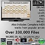 MIDI Pack - 330,000 MIDI Files Pack b...