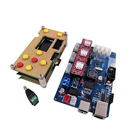 F-Yi GRBL Off-line Working Controller LCD Screen +GRBL