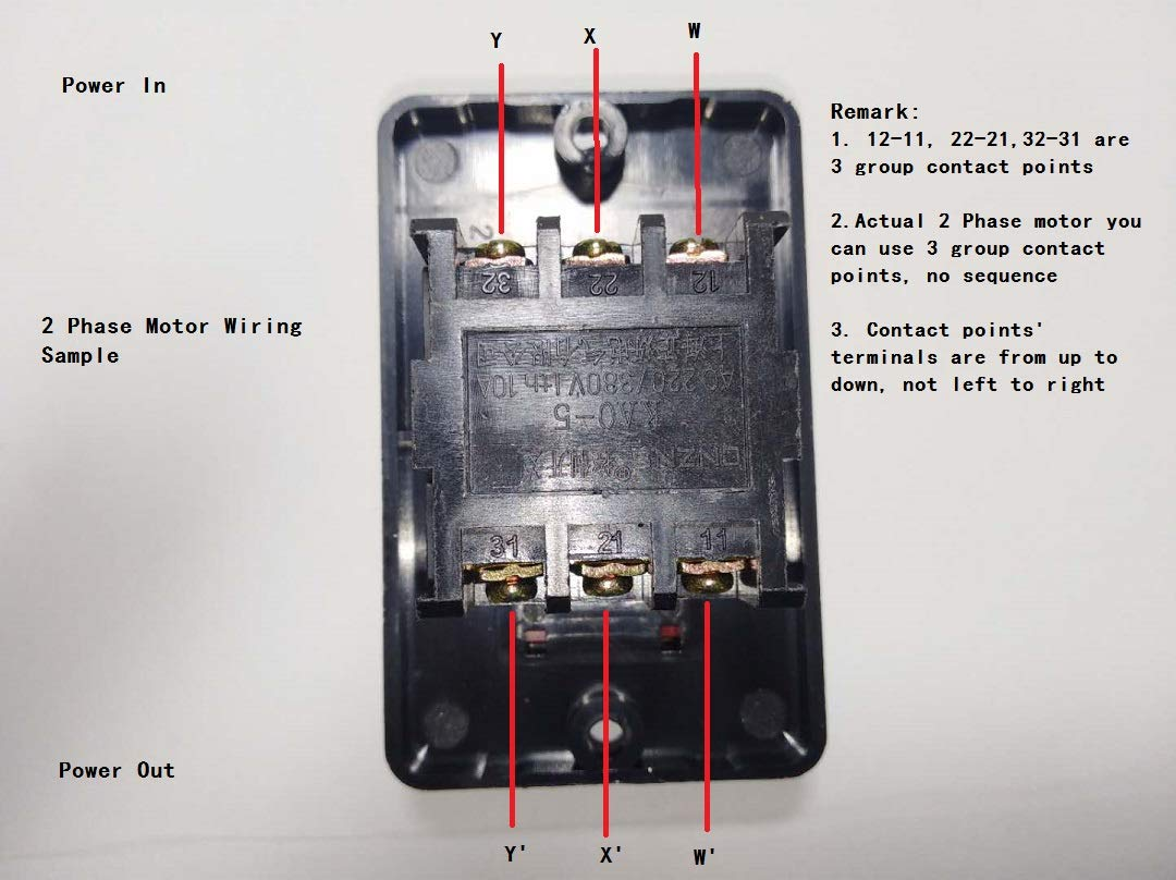 One Switch Diagram On Single Phase Motor Wiring Diagram How To Wire A