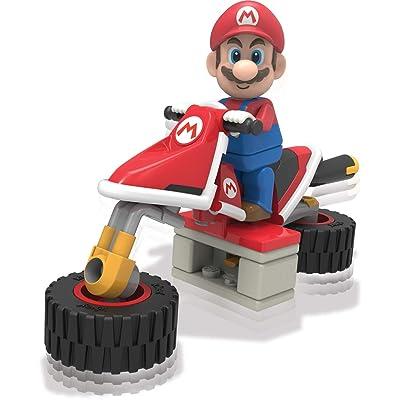 K'NEX Nintendo Mario Kart Mario Bike Building Set: Toys & Games