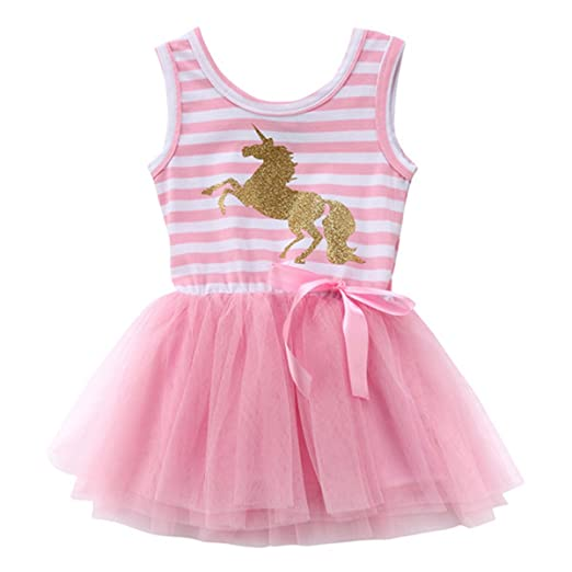 794018852 Amazon.com: JiaDuo Baby Toddler Girls Unicorn Dress Mesh Tutu Skirt Party  Costume Outfit: Clothing
