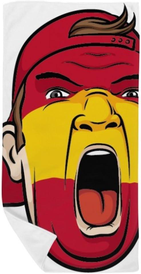 DIYthinker España Bandera Máscara Facial del Maquillaje Toalla de ...