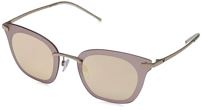 Emporio Armani 0EA2075 Gafas de sol, Rose Gold, 60 para ...