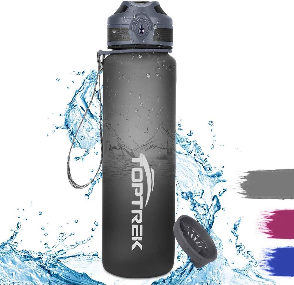 toptrek Trinkflasche 1L BPA-Frei