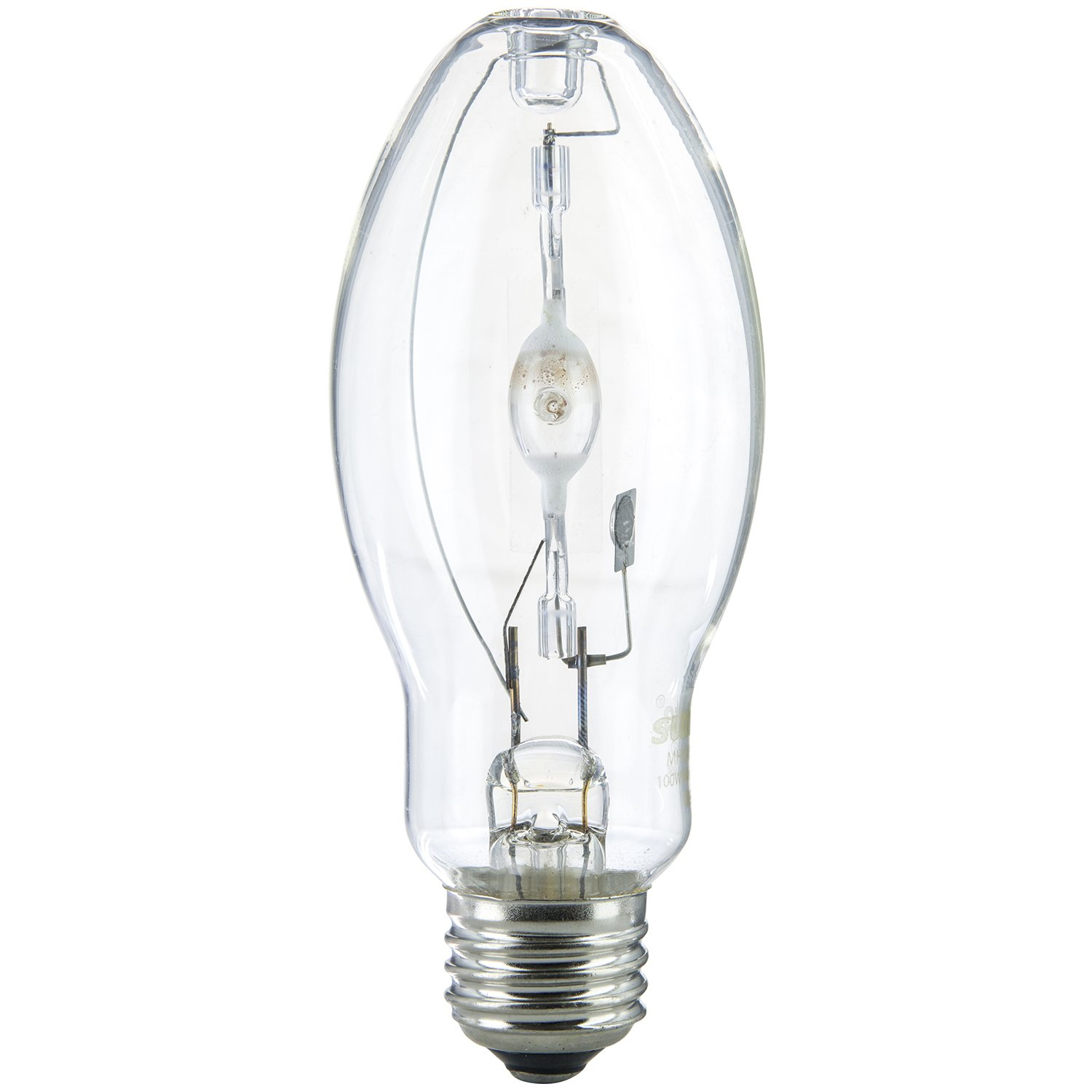 Sunlite MH70/U/MED 70-Watt Metal Halide ED17 Bulb, Medium Base, Clear
