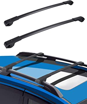 roof racks cross bars compatible with subaru forester 2014 2021 aluminum roof rail cross bars low wind noise