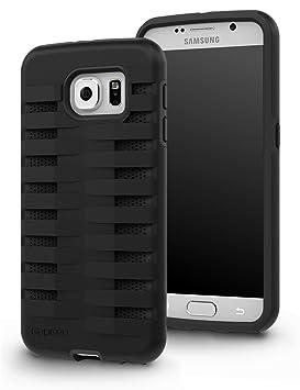 GADGEO Galaxy S6 Carcasa Funda Defender Fuerte Resistente a Impactos Case Cover – Funda Rígida Protectora de Dos Piezas – La Mejor Funda para Samsung ...