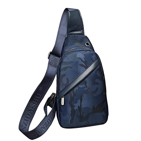 97c67d02fb5a Amazon.com : LXIANGP Outdoor Backpack Men's Chest Bag Camouflage ...