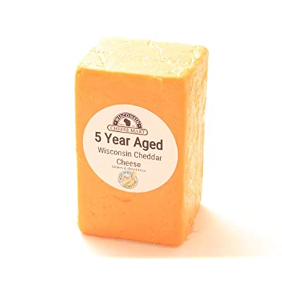 5 Year Aged Cheddar Half Loaf: Grocery & Gourmet Food