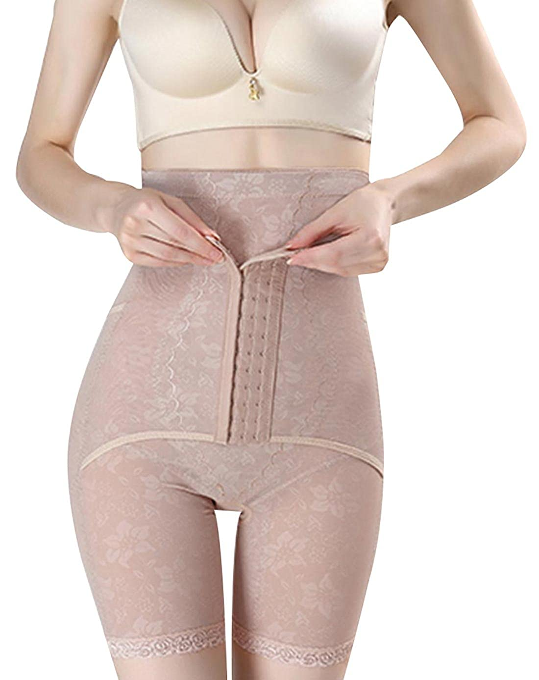PERISLIM Women's Tummy Control Shapewear Butt Lifter Thigh Slimmer with Hooks HJLFS4396-4403