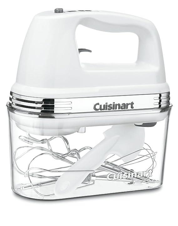 Cuisinart HM-90S Power Advantage Plus 9-Speed Handheld Mixer with Storage Case, White Mixer Grinders at amazon