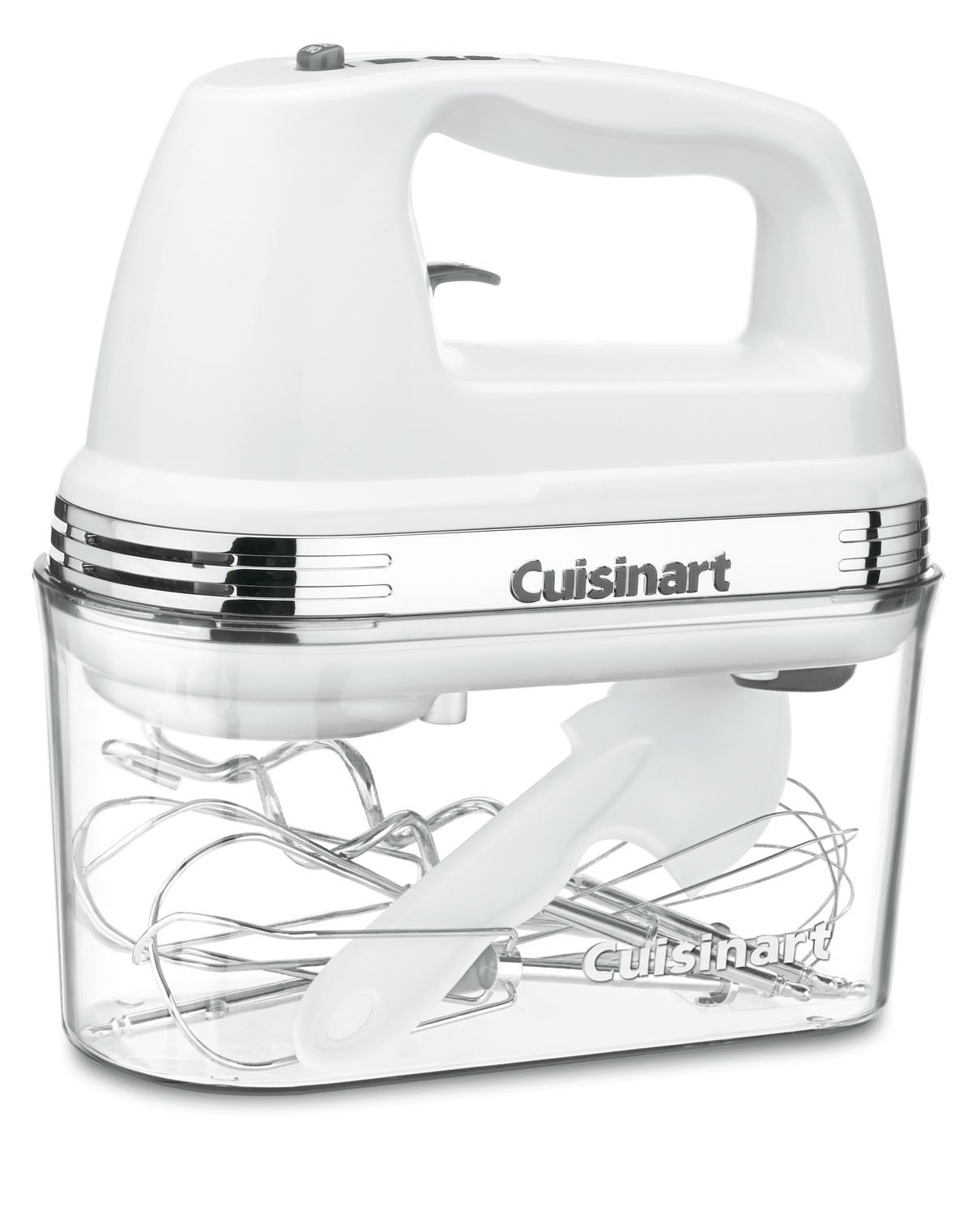 Cuisinart HM-90S Power Advantage Plus 9-Speed Handheld Mixer with Storage Case, White by Cuisinart (Image #1)