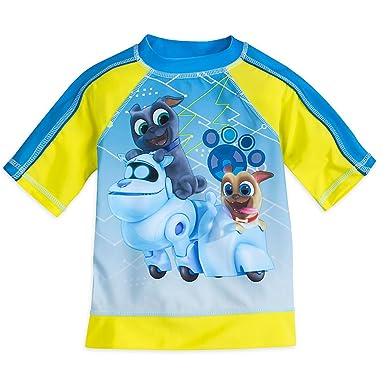 89b91ae886 Amazon.com  Disney Puppy Dog Pals Rash Guard For Boys  Clothing