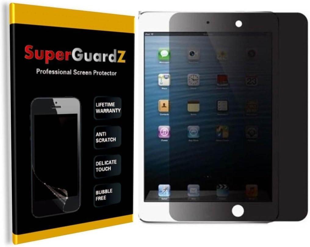 iPad 9.7 (2018 & 2017) / iPad Pro 9.7 / iPad Air 2 / iPad Air 1 Screen Protector [Privacy Anti-Spy], SuperGuardZ, Anti-Scratch, Anti-Bubble [Lifetime Replacement]
