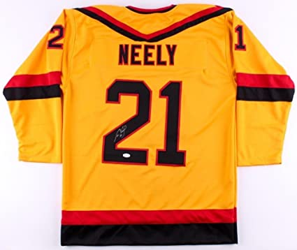 huge discount 5efa0 92bf7 Cam Neely Autographed Signed Vancouver Canucks Throwback ...