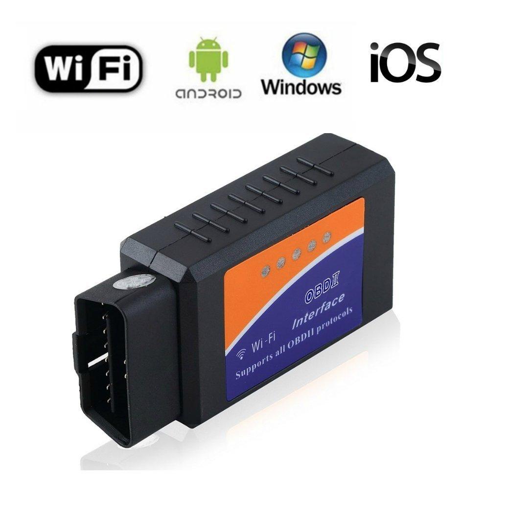 Amazon com: Car WIFI OBD2 Scanner Code Reader Reset Check