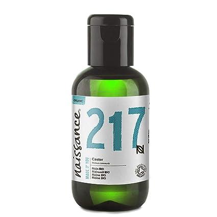 Naissance Aceite de Ricino BIO 60ml - Puro, natural, certificado ecológico, prensado en