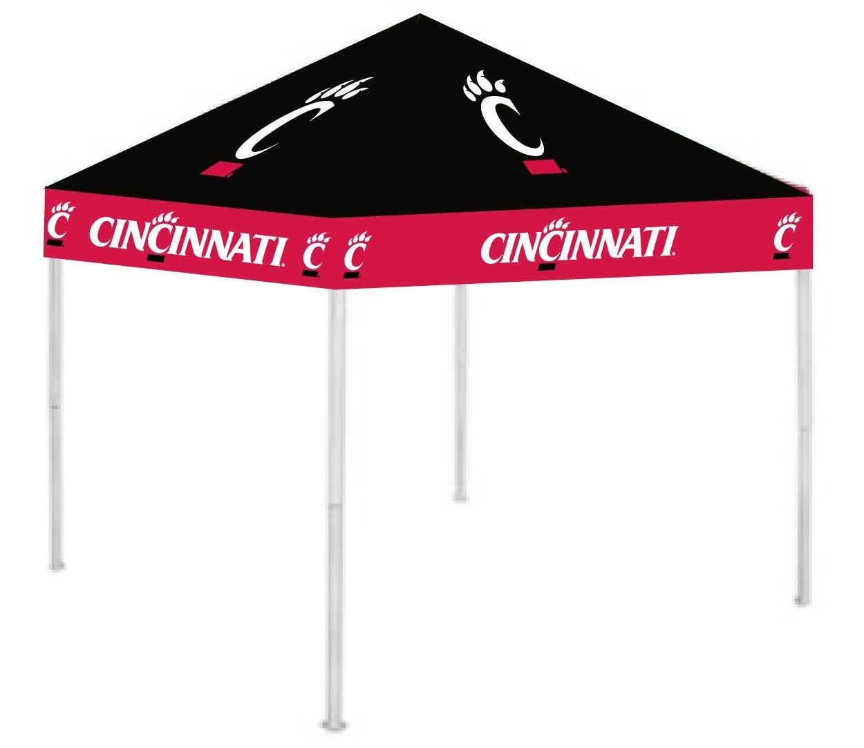 Rivalry RV156-5000 9' x 9' Cincinnati Canopy B003XKISF8 9 x 9|Cincinnati Bearcats Cincinnati Bearcats 9 x 9