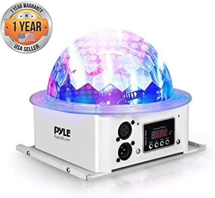 Amazon.com: Pyle Rotating Moving Stage Light – para DJ ...