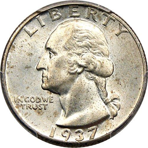 1937 D Washington Quarters (1932-98) Quarter MS66 PCGS\CAC