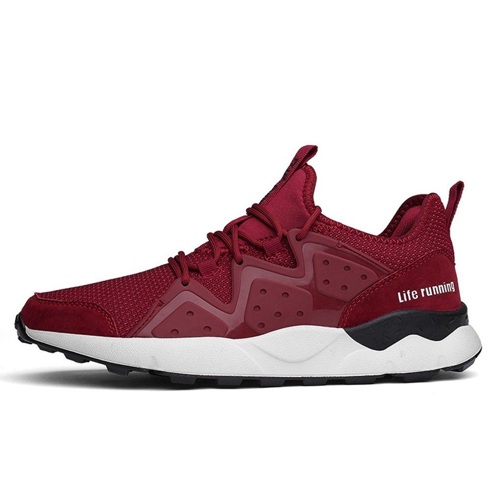 LFEU - botas de caño bajo Hombre 40 EU|Rojo