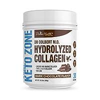 Keto Zone Chocolate Collagen Powder