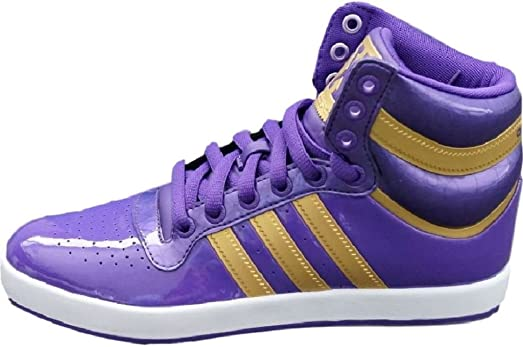 Adidas Originals Top X Mid High Sneaker EUR 39 UK 6 lila Schuhe Stiefel Boots