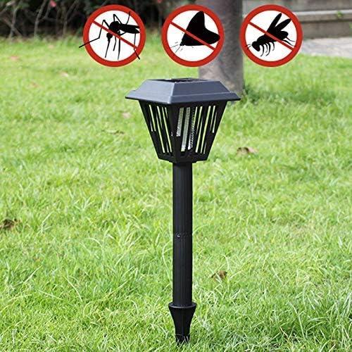 Mcottage Solar Mosquito Eliminador Césped Luz Impermeable Jardín Exterior Vegetal Campo Césped Luz: Amazon.es: Hogar