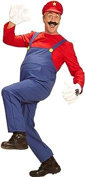 NET TOYS Disfraz Super Mario - S (ES 48) | Traje Fontanero ...