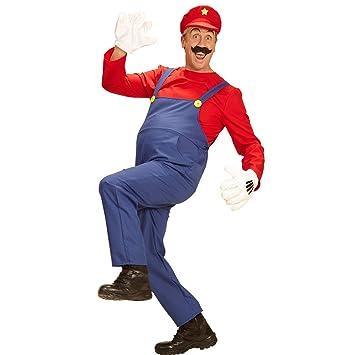 Amakando Traje Fontanero - XL (ES 54) | Disfraz Super Mario ...