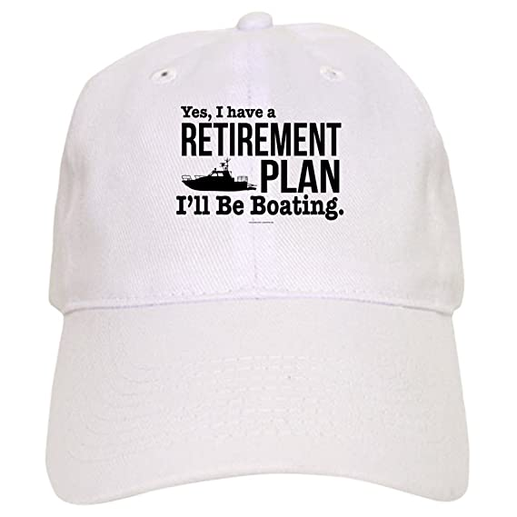 af843687461 Amazon.com  CafePress - Boating Retirement - Baseball Cap with Adjustable  Closure