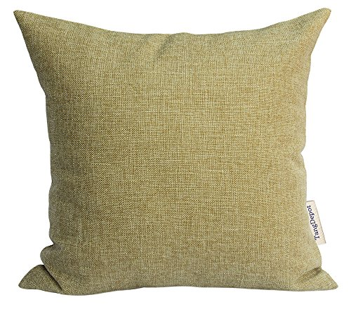 d Linen Cushion Cover, Throw Pillow Cover, Square Decorative Pillow Covers, Indoor/Outdoor Pillows Shells - (20