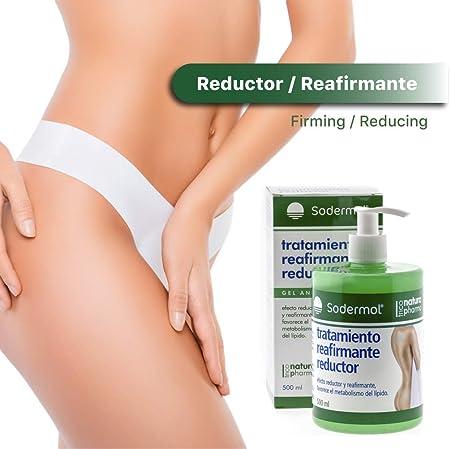 Gel crema adelgazante reductora anticelulitica reafirmante potente hombre mujer. Quemagrasas abdomen caderas y glúteos, anti celulitis intensivo efecto frio (Gel Reductor)