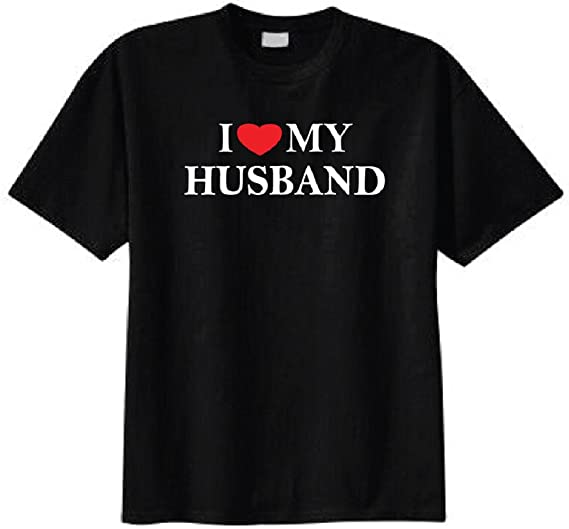 Amazoncom I Love My Husband T Shirt Clothing