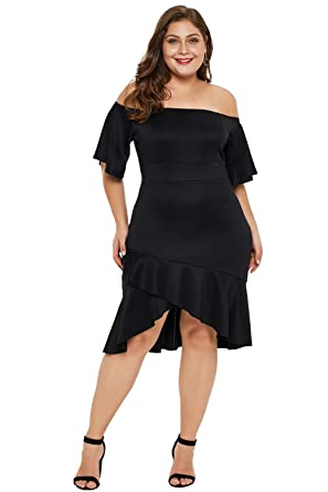 e29338b2e05 Womens White Black Partying Draping Maxi Length Plus Size Dress Deep V-Neck  Tank