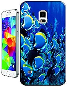 Fishs swimming undersea blue fashion cell phone case design for Samsung Galaxy N3