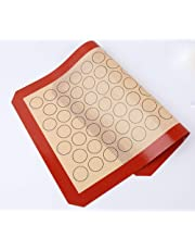 Jasinber Silicone Macaron Baking Mat, Non Stick Silicone Cooking Mats with Circles for Macaron/Pastry/Cookie Making - 1 Pack