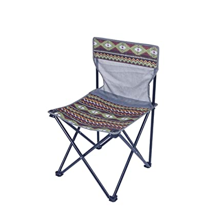Amazon.com: Silla plegable ultraligera para camping, viajes ...