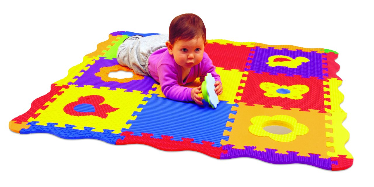Edushape 25 Piece 40x40 Play Sound Mat by Edushape