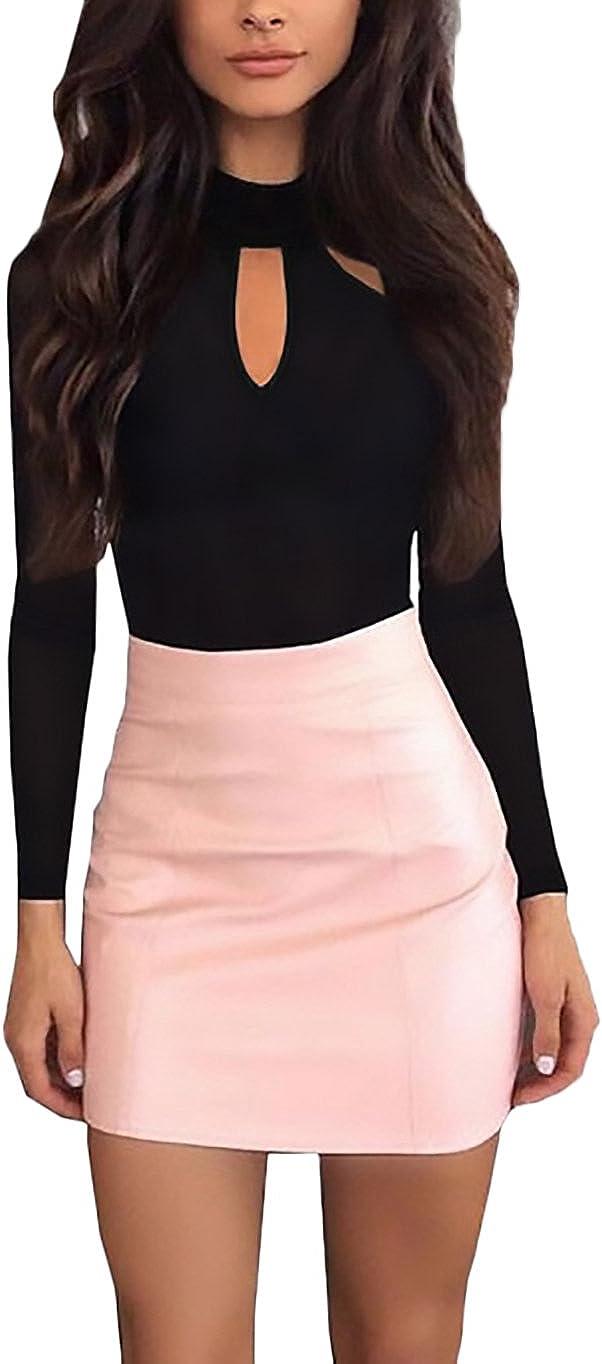 Body Donna Elegante Manica Lunga Slim Fit Fashion Casual Autunno Inverno Bodysuit Festa Style Maglia Maniche Lunghe Tshirt Top Ragazze