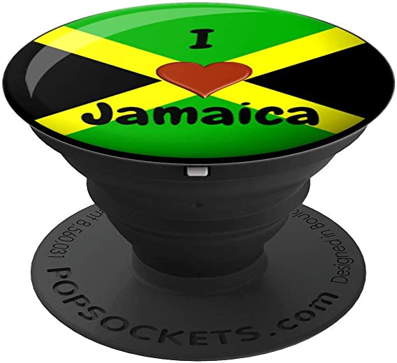 2 Pack The Grip Ring Holder 360 Degrees Rotation Stand Works for All Smartphone and Tablets-Jamaican Flag Jamaica Country