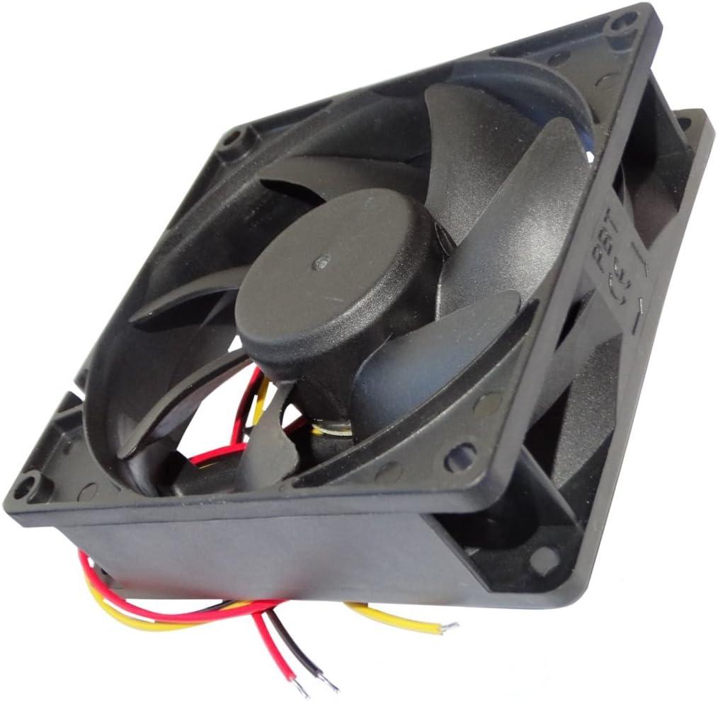 AERZETIX: Ventilador para Caja de Ordenador PC 24V 92x92x25mm ...