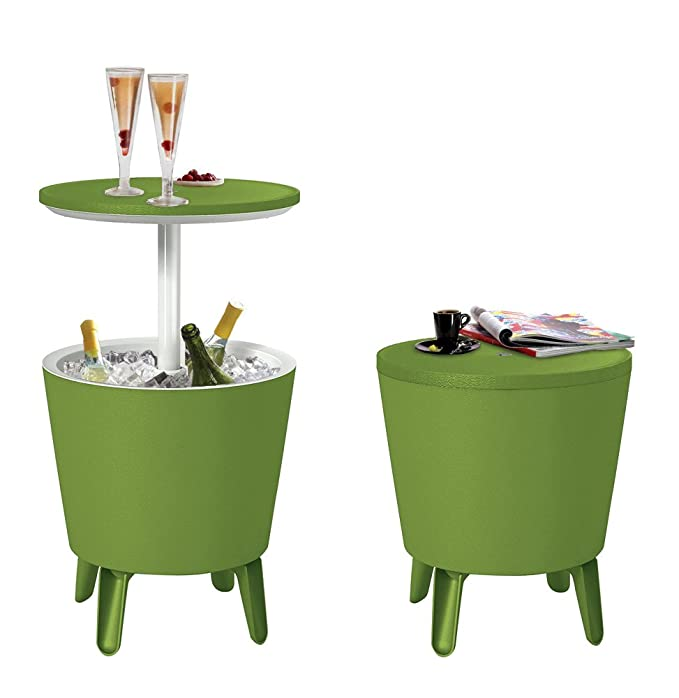 Koll Living kühltisch Pacific Lime – 3 in1 – Bistro Mesa Nevera y ...