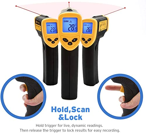 Etekcity is the great choice for who   are looking for the best infrared thermometer