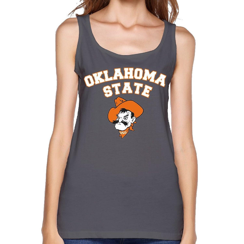 Women's Ncaa Oklahoma State Cowboys Cowgirls OSU Teams Logo Tank Top-
